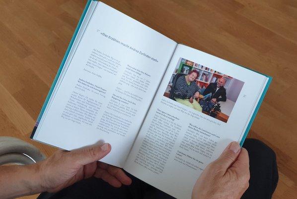 Buchprojekt für Andrea Zurlinden